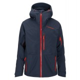 Peak Performance Heli 2L Gravity Jacket skijakke, Heli 2L Gravity Jacket skijakke, 2N3 Blue Shadow/57T Flame Red
