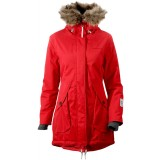 Didriksons Angelina Women's Parka, Angelina Women's Parka, RED (040)