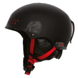 K2 Phase Pro Men Helmet w/K2 Dialed Fit skihjelm, Phase Pro Men Helmet w/K2 Dialed Fit skihjelm, Black/Red