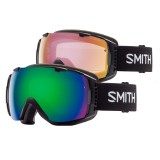 Smith I/O Green Sol-X SP AF + Red Sensor Mirror skibriller, I/O Green Sol-X SP AF + Red Sensor Mirror skibriller, Black