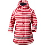Didriksons Babu Printed Kid's Jacket regnjakke, Babu Printed Kid's Jacket regnjakke, Striped Peark 095