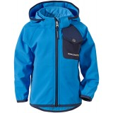Didriksons Otego Kid's Jacket softshell, Otego Kid's Jacket softshell, Sharp Blue 332