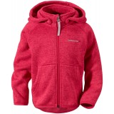 Didriksons Etna Kid's Jacket fleece, Etna Kid's Jacket fleece, Bubble Gum 185