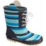 Didriksons Splashman Printed Kid's Boot gummistøvler, Splashman Printed Kid's Boot gummistøvler, Striped Breeze 096