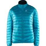 Haglöfs Essens III Down Jacket Women dunjakke, Essens III Down Jacket Women dunjakke, Peacock/magnetite