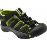 Keen Kids Newport H2, Kids Newport H2, Black/Lime Green