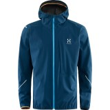 Haglöfs L.I.M Proof Jacket Men regnjakke, L.I.M Proof Jacket Men regnjakke, Blue Ink