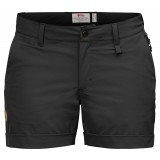 Fjällräven Abisko Stretch Shorts W dameshorts, Abisko Stretch Shorts W dameshorts, Black