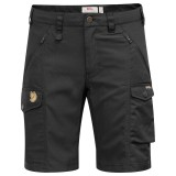 Fjällräven Nikka Shorts Curved dameshorts, Nikka Shorts Curved dameshorts, Black