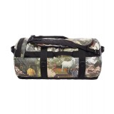 The North Face Base Camp Duffel M 69 liter, Base Camp Duffel M 69 liter, Sepia Brown Hiker Print