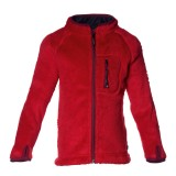 Isbjörn Cozy High Loft Fleece Jacket børnefleece, Cozy High Loft Fleece Jacket børnefleece, Happy Red