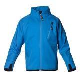 Isbjörn Wind and Rain Block Jacket børnesoftshell, Wind and Rain Block Jacket børnesoftshell, Swedish Blue