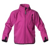 Isbjörn Wind and Rain Block Jacket børnesoftshell, Wind and Rain Block Jacket børnesoftshell, Very Berry