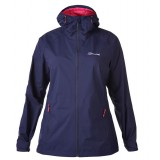 Berghaus Stormcloud Shell Jacket Women regnjakke, Stormcloud Shell Jacket Women regnjakke, Dark Blue R18 Evening Blue