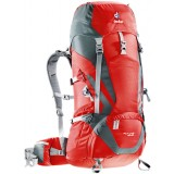 Deuter ACT Lite 40 + 10 rygsæk, ACT Lite 40 + 10 rygsæk, Fire-granite