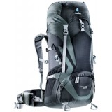 Deuter ACT Lite 50 + 10 rygsæk, ACT Lite 50 + 10 rygsæk, Black-granite