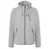 Me°ru' Mallebo Fleece Hoody Men herrefleece, Mallebo Fleece Hoody Men herrefleece, Grey Melange/Grey
