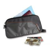 Lifeventure UltraLite Document Wallet rejsepung, UltraLite Document Wallet rejsepung, Black