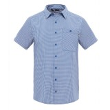 The North Face S/S Hypress Shirt herreskjorte, S/S Hypress Shirt herreskjorte, Limoges Blue Plaid