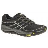 Merrell Allout Rush løbesko, Allout Rush løbesko, Black/Lime