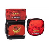 LEGO Bags Small School Bag skoletaske, Small School Bag skoletaske, Ninjago Kai/red