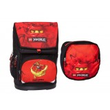 LEGO Bags Large School Bag skoletaske, Large School Bag skoletaske, Ninjago Kai/red