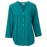Royal Robbins Cool Mesh Tunic skjorte, Cool Mesh Tunic skjorte, Dark Aqua