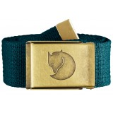 Fjällräven Canvas Brass Belt 4 cm bælte, Canvas Brass Belt 4 cm bælte, Glacier Green