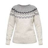 Fjällräven Övik Knit Sweater WMS damesweater, Övik Knit Sweater WMS damesweater, Grey