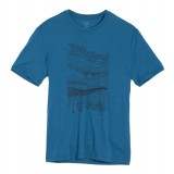 Icebreaker Tech Lite SS Crewe Road Trip T-shirt, Tech Lite SS Crewe Road Trip T-shirt, Shore