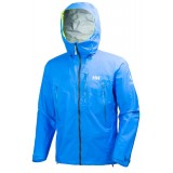 Helly Hansen Odin Enroute Shell Jacket regnjakke, Odin Enroute Shell Jacket regnjakke, 535 Racer Blue