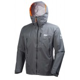 Helly Hansen Odin Enroute Shell Jacket regnjakke, Odin Enroute Shell Jacket regnjakke, 964 Charcoal