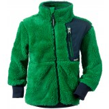 Didriksons Ciqala Kids Jacket børnefleece, Ciqala Kids Jacket børnefleece, 092/JELLO GREEN
