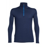Icebreaker Tech Top LS Half Zip M undertrøje, Tech Top LS Half Zip M undertrøje, Admiral/Pelorus