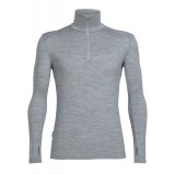 Icebreaker Tech Top LS Half Zip M undertrøje, Tech Top LS Half Zip M undertrøje, Metro HTHR