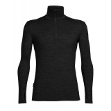 Icebreaker Tech Top LS Half Zip M undertrøje, Tech Top LS Half Zip M undertrøje, Black