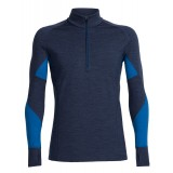 Icebreaker Winter Zone LS Half Zip M undertrøje, Winter Zone LS Half Zip M undertrøje, Fathom HTHR/Pelorus