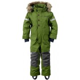Didriksons Onawa Kid's Coverall flyverdragt, Onawa Kid's Coverall flyverdragt, 191/TURTLE GREEN