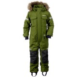 Didriksons Migisi Kid's Coverall flyverdragt, Migisi Kid's Coverall flyverdragt, 191/TURTLE GREEN