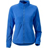Didriksons Monte Women's Microfleece Jacket damefleece, Monte Women's Microfleece Jacket damefleece, Indigo Blue 187