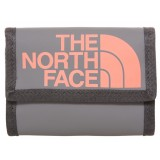 The North Face Base Camp Wallet pung, Base Camp Wallet pung, Zinc Grey/Tropical Coral
