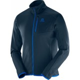Salomon Discovery FZ Midlayer M herrefleece, Discovery FZ Midlayer M herrefleece, Big Blue-X