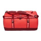 The North Face Base Camp Duffel S 50 liter, Base Camp Duffel S 50 liter, Melon Red/Calypso Coral