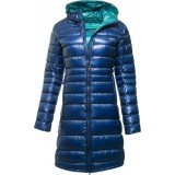 Yeti Faith Down Coat dunfrakke, Faith Down Coat dunfrakke, Estate Blue/Bay Leaf