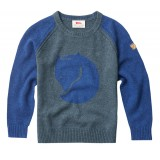 Fjällräven Kids Fox Sweater børnesweater, Kids Fox Sweater børnesweater, Uncle Blue