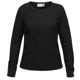 Fjällräven Övik Structure Sweater WMS damesweater, Övik Structure Sweater WMS damesweater, Dark Grey