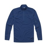 Haglöfs Actives Merino II Zip Top Men undertrøje, Actives Merino II Zip Top Men undertrøje, Hurricane Blue