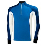 Helly Hansen HH Warm Freeze 1/2 Zip undertrøje, HH Warm Freeze 1/2 Zip undertrøje, 537 Racer Blue/Evening Blue