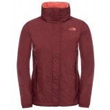 The North Face Evolve II Triclimate Jacket WMS vinterjakke, Evolve II Triclimate Jacket WMS vinterjakke, Deep Garnet Red