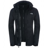 The North Face Evolve II Triclimate Jacket WMS vinterjakke, Evolve II Triclimate Jacket WMS vinterjakke, TNF Black/TNF Black
